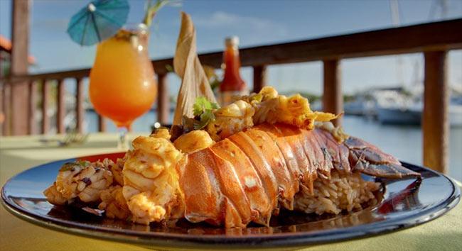 Belize cuisine lobster
