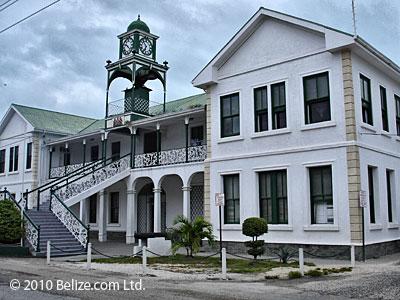 Supreme Court Building downtown Belize City