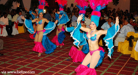 Alma Caribena dancers in Belize