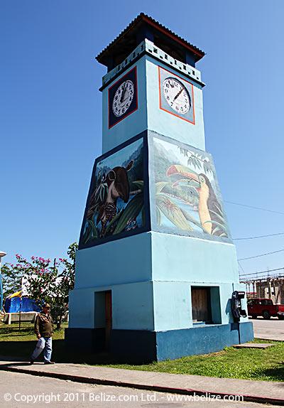 Punta Gorda Belize Town Clock