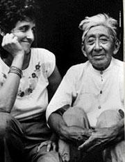 Dr. Rosita Arvigo and Mayan Shaman Don Eligio Panti.