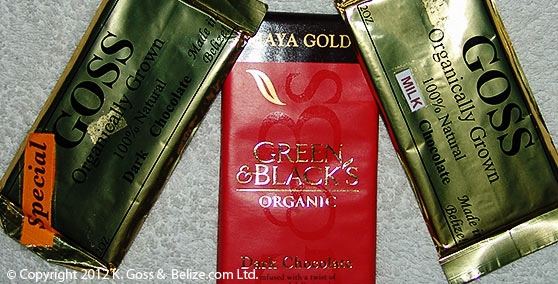 belize chocolate bars