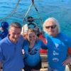 Ricard Branson in Belize Blue Hole