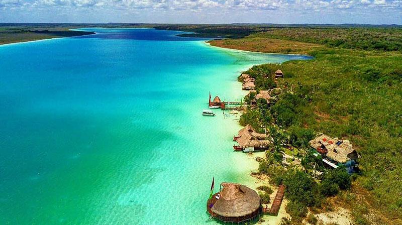 Bacalar lagoon Quintana Roo Mexico