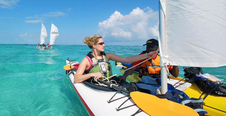 Kayak southern Belize