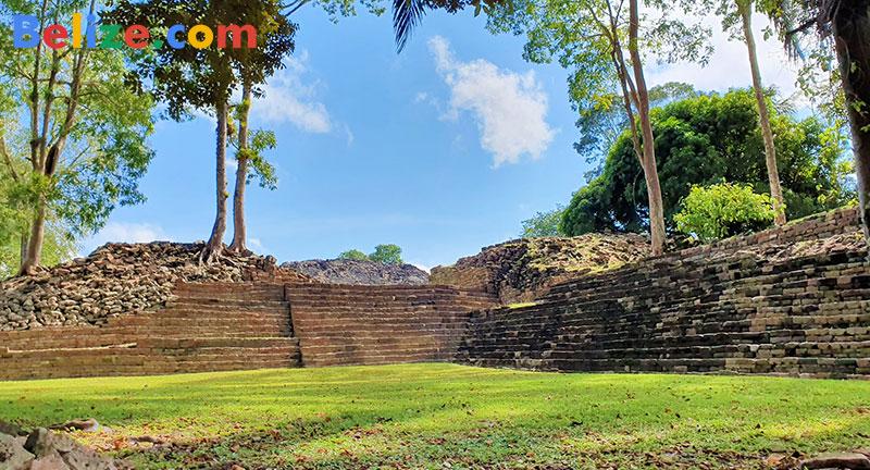 Maya ruin southern Belize