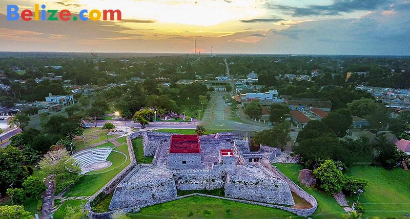 Fort San Felipe Bacalar Mexico